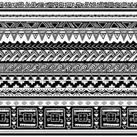 textura tribal vetor