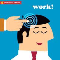 Acordar e trabalhar, dias úteis de escritório