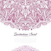 convite rosa