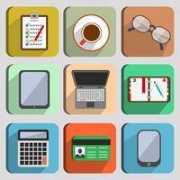 Elementos do conjunto de negócios no local de trabalho