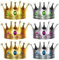 Coroas vetor
