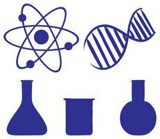 Doodle design de um experimento