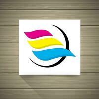 Logotipo CMYK vetor