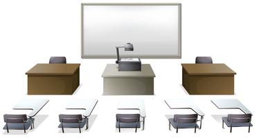 Sala de aula vetor
