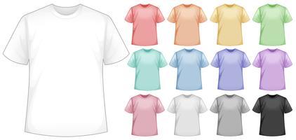 camisetas vetor