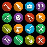 Conjunto de ícones de ferramentas