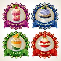 Banners de fita de doces