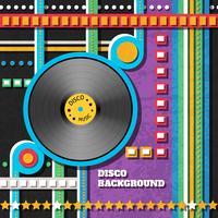 Fundo de música de discoteca