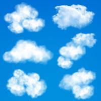Fundo de nuvens do céu vetor
