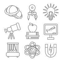 Ícones de ciência física