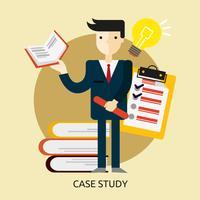 Ilustração conceitual de estudo de caso Design