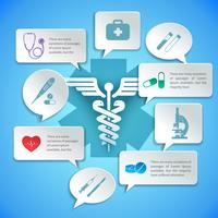 Infográfico de papel médico