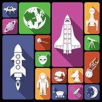 Espaço, ícones, apartamento