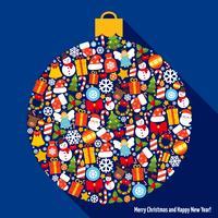 Bola de decoração de natal