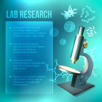 Pesquisa de laboratório de bactérias e vírus