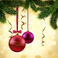 Galho de árvore de natal