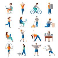 Ícones de atividade física