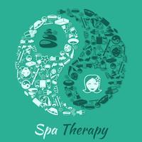 Conceito de terapia de spa