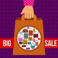 Projeto grande venda vetor