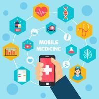 Conceito de saúde móvel
