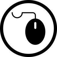 Ícone do rato do vetor