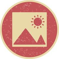 Ícone de imagens de vetor