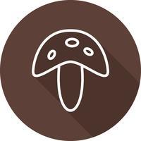 Vector cogumelo ícone