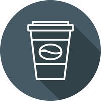 Ícone de café de vetor