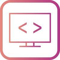Ícone de otimização de código de vetor