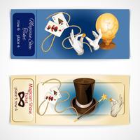 bilhetes de show de mágico
