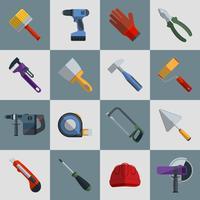 Reparar ferramentas de construção vetor