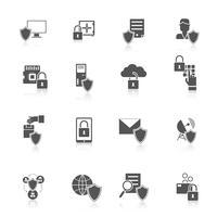 Ícone de segurança da informação