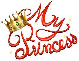 Princesa vetor