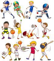 Esportes vetor