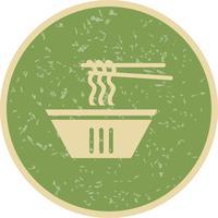 Vector macarrão ícone