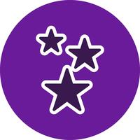 Ícone de vetor de estrelas