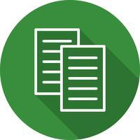 Ícone de arquivos vetoriais vetor