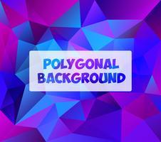 Fundo poligonal para embarcações vetor