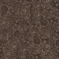 Ornamental padrão sem emenda escuro vetor