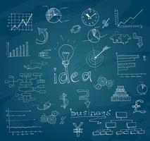 Quadro de desenho de negócios