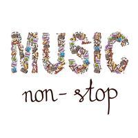 Composição palavra música
