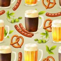 Cerveja sem costura padrão