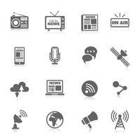 Ícones de mídia
