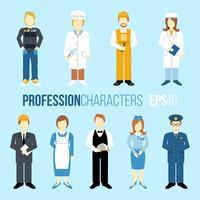 Conjunto de caracteres de proffissão