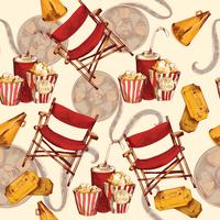 Fundo sem emenda de cinema
