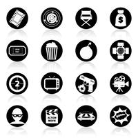 Filme de ação em preto e branco