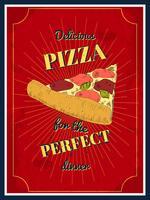 cartaz de pizza