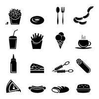 Ícones de fast food