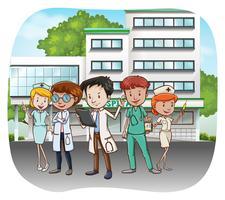 hospital vetor