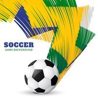 jogo de futebol abstrato vetor